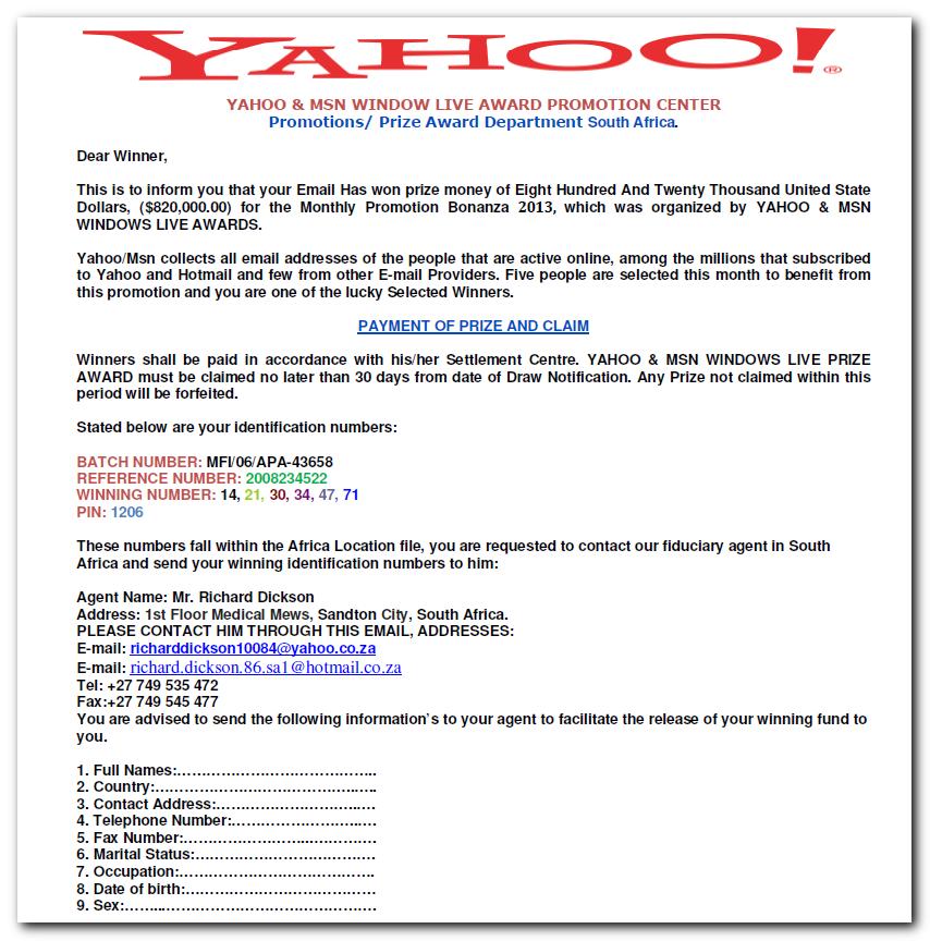 yahoo dating prevarepoljoprivrednici putem interneta komercijalni