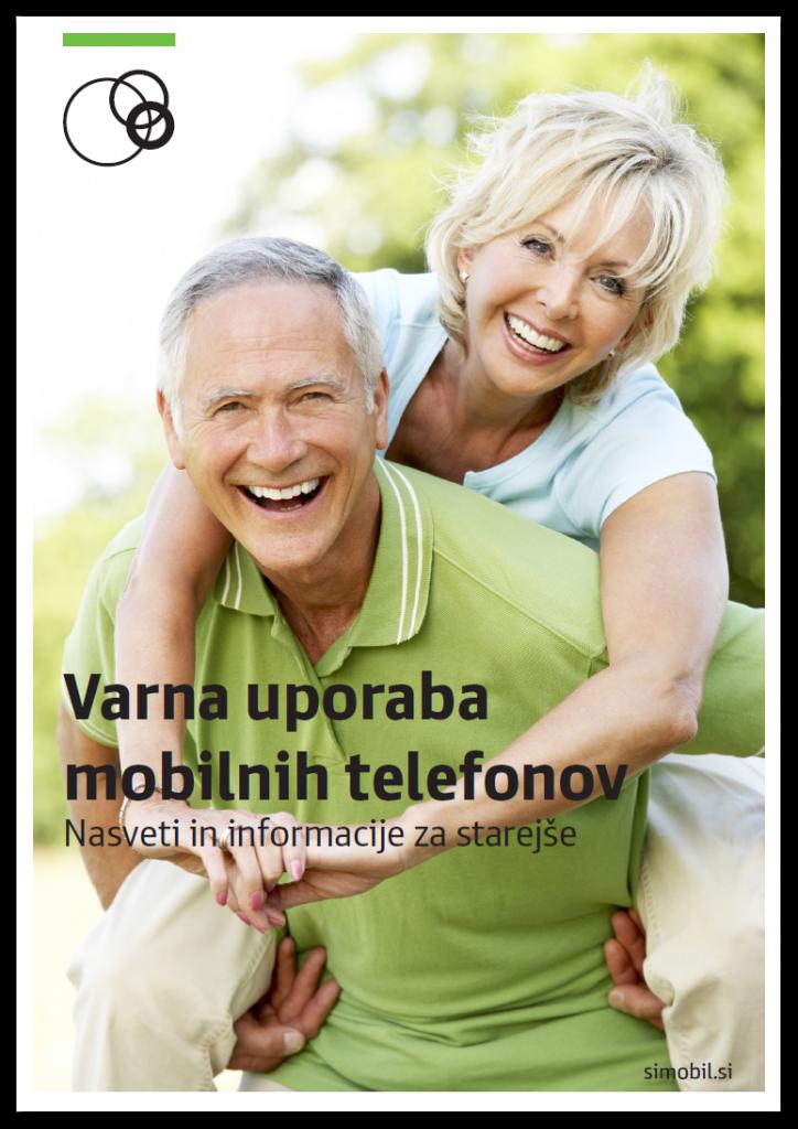 Naslovnica: Varna in brezskrbna uporaba mobilnikov tudi v tretjem življenjskem obdobju