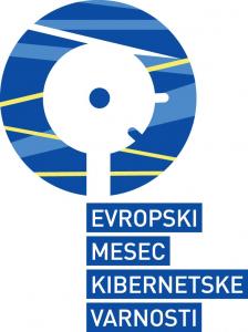 Logotip: Evropski mesec kibervarnosti