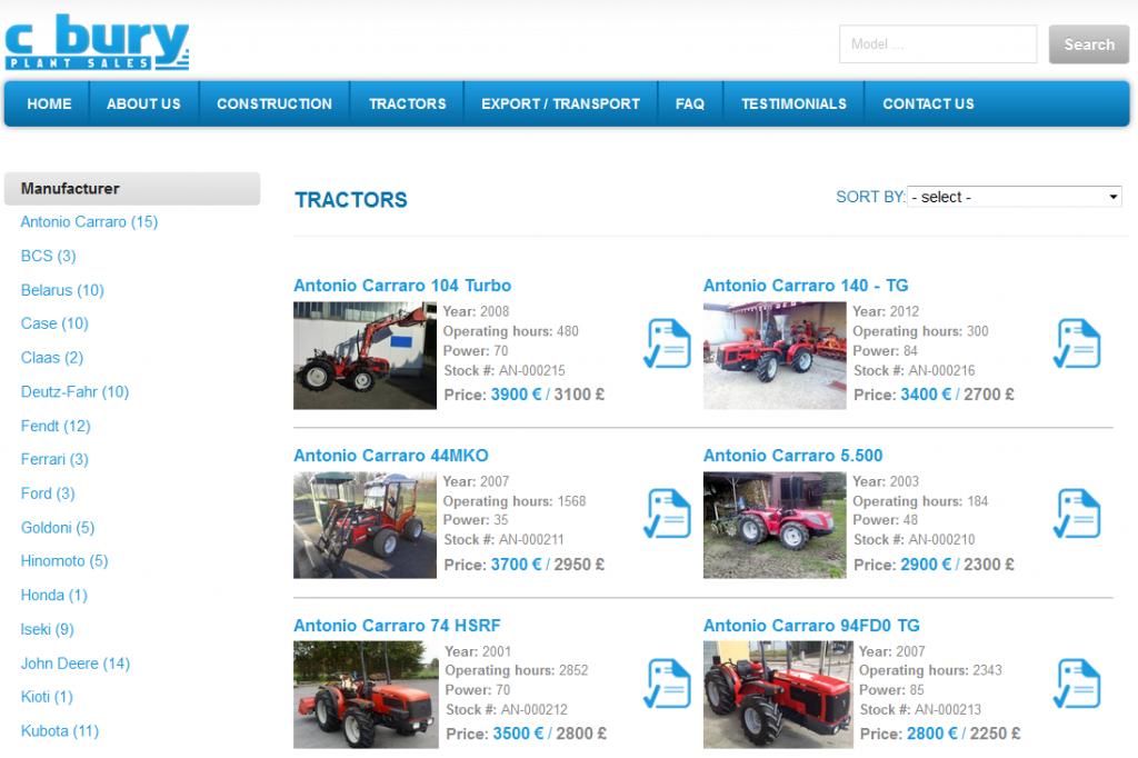 Neverjetno nizke cene so znak za previdnost, primer lažne spletne trgovine s traktorji