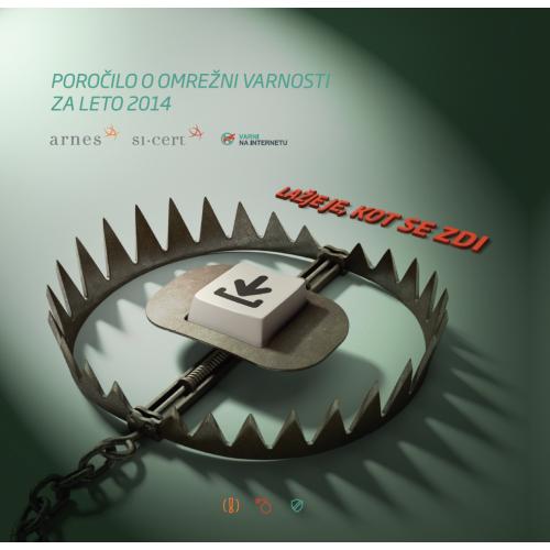 Naslovnica Poročila o omrežni varnosti 2014