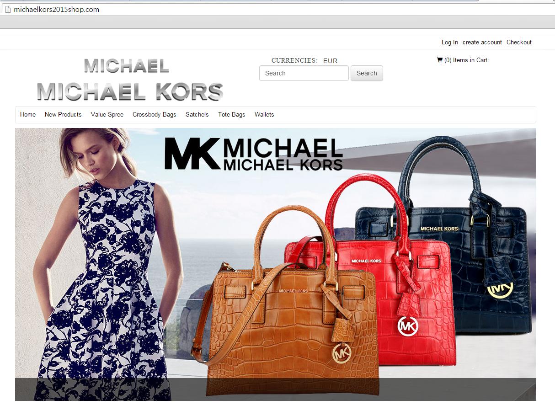 Lažna spletna trgovina Michael Kors