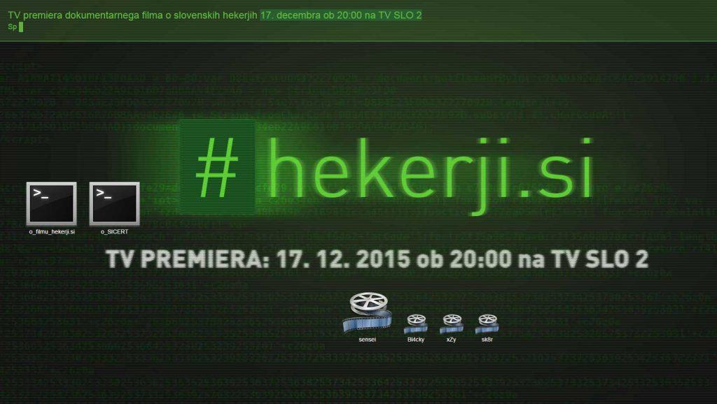 Slika dokumentarnega filma o slovenski hekerski sceni #hekerji.si