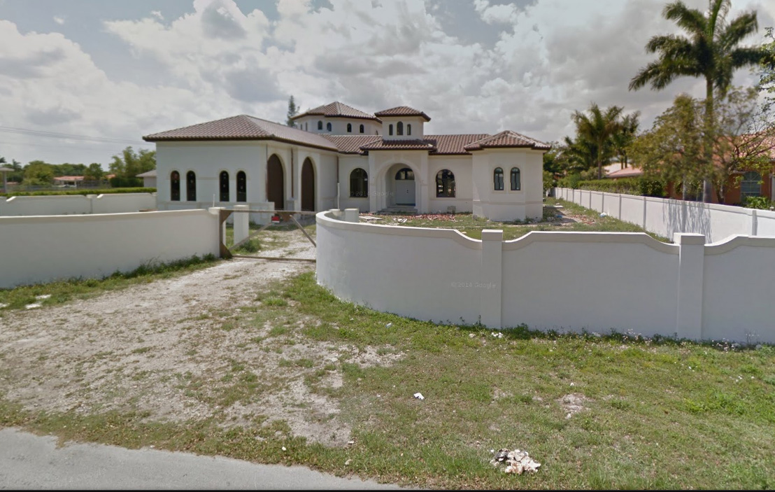 Fotografije prodajalne/skladišča na Floridi z Google maps