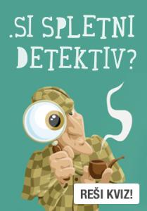 """Naslovna slika: """".SI spletni detektiv?"""""""
