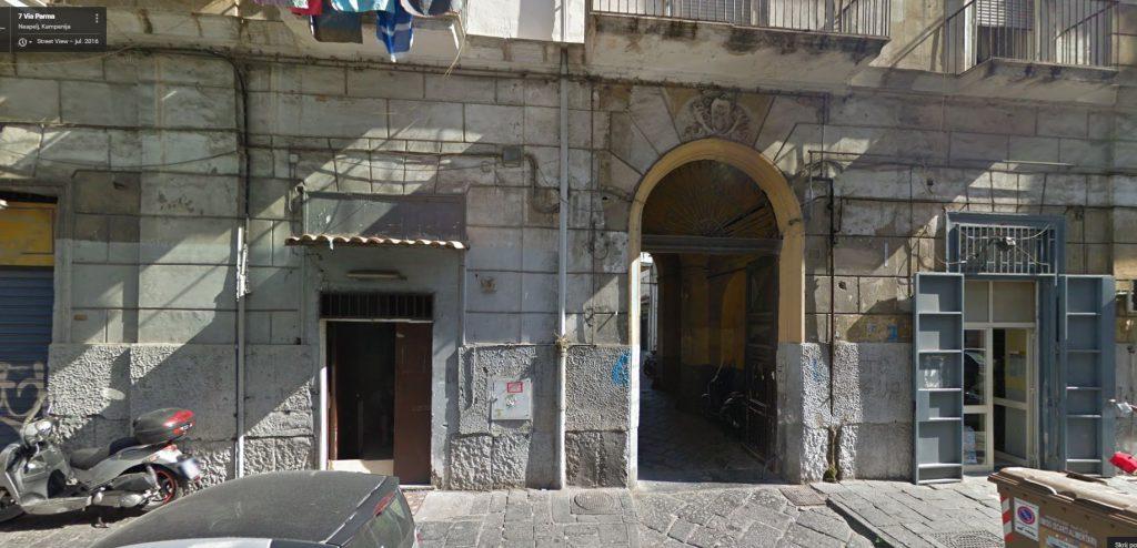 Fotografija zgradbe z naslova z Google maps