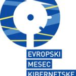 Logotip kampanje Evropski mesec kibervarnosti.