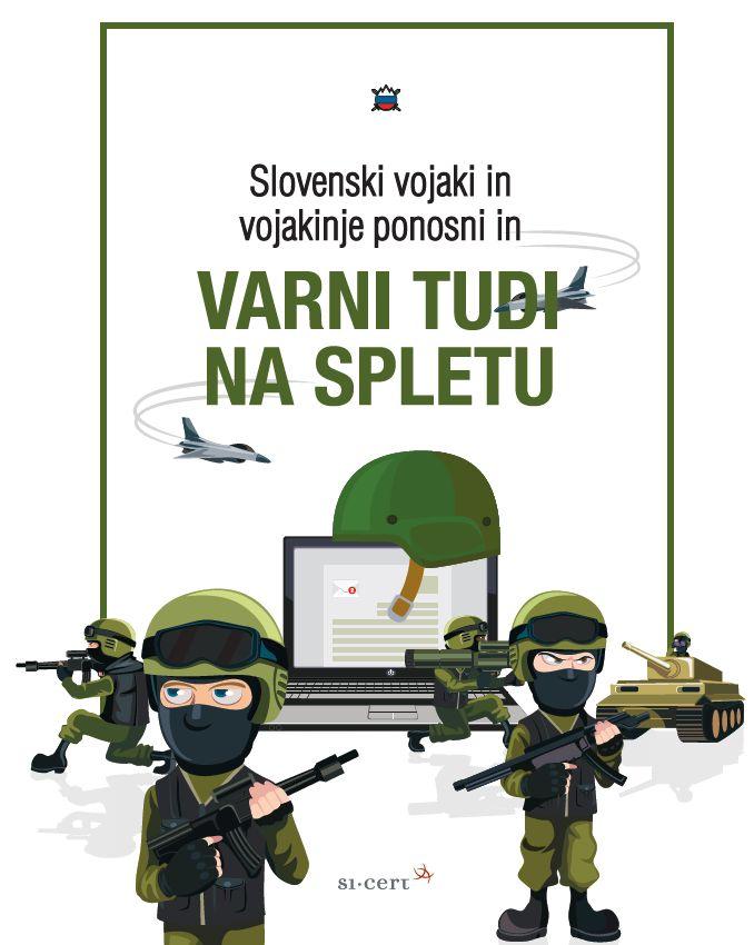 Naslovnica priročnika za pripadnike Slovenske vojske