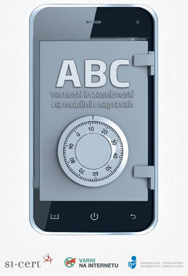 Vodič ABC varnosti in zasebnosti na mobilnih napravah