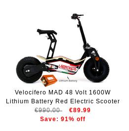 Slika električnega skiroja po neverjetno ugodni ceni